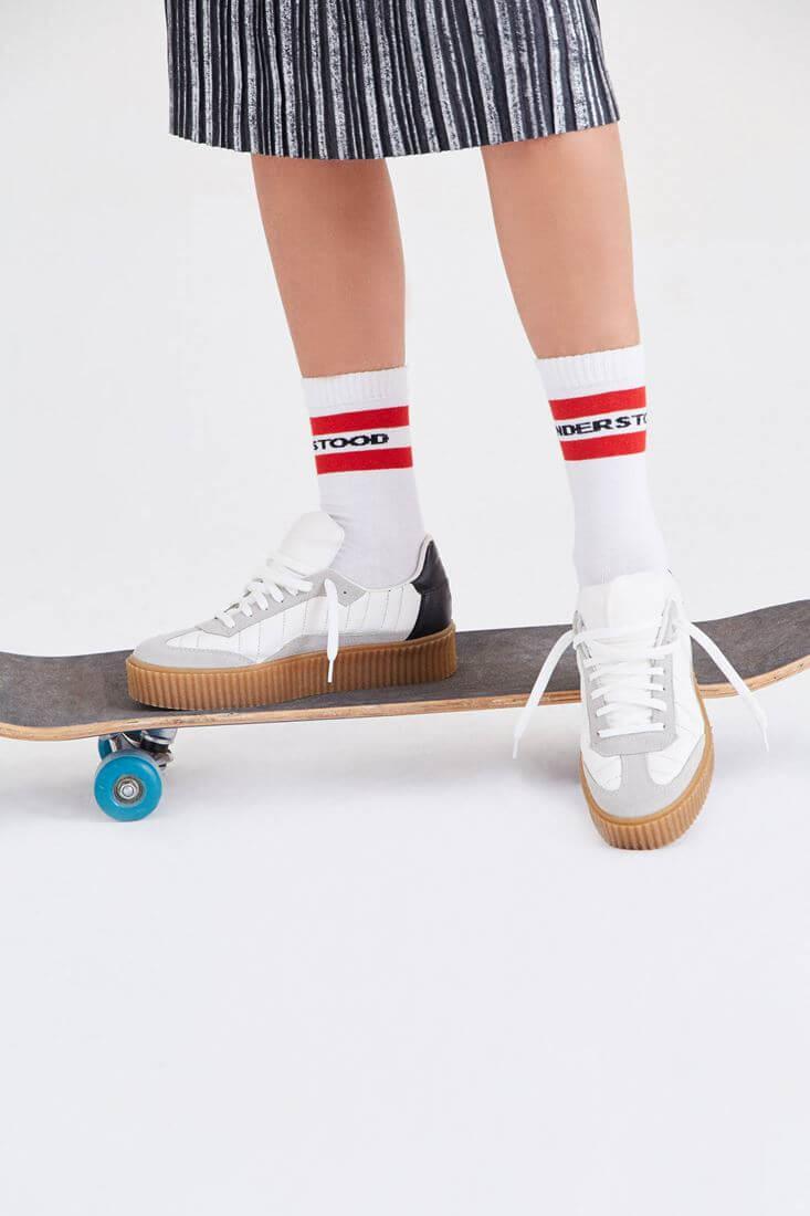 Kalın Tabanlı Spor Ayakkabı