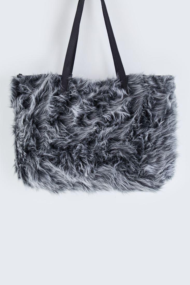 Siyah Kürk Çanta