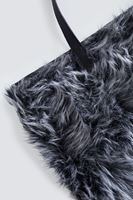 Bayan Siyah Kürk Çanta