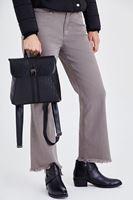 Bayan Siyah Mini Sırt Çantası