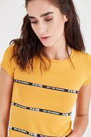 Bayan Turuncu Kısa Tişört