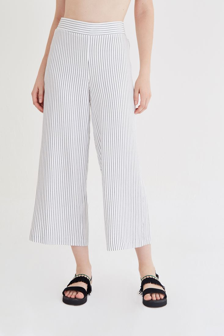 Mixed Stripped Pants