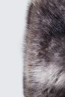 Bayan Kahverengi Kürk Atkı