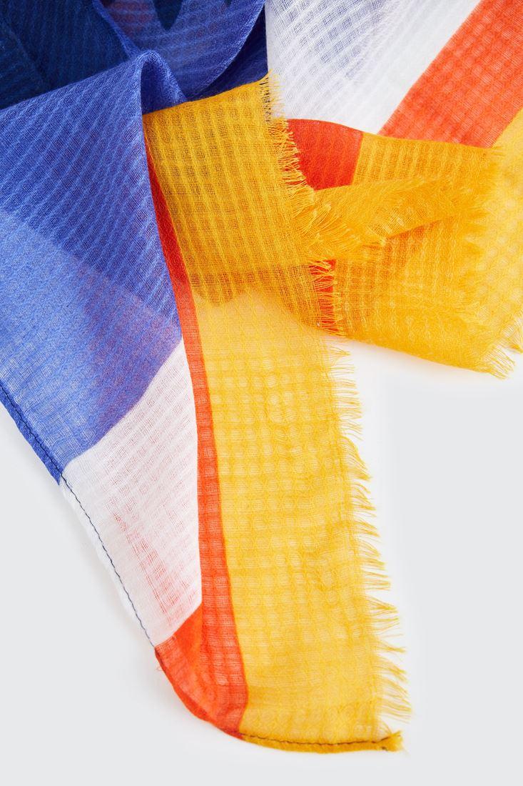 Bayan Çok Renkli Renkli Şal