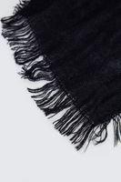 Bayan Siyah Düz Şal