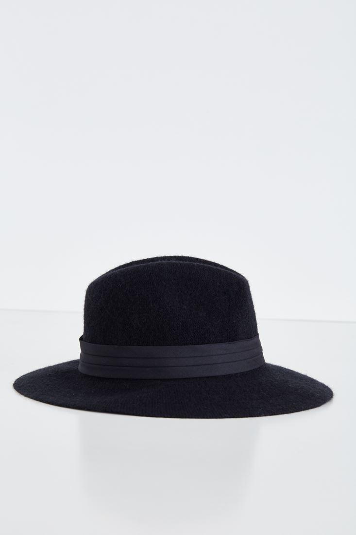Bayan Siyah Yün Şapka