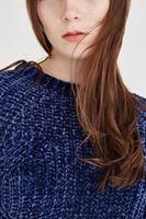 Bayan Lacivert Kazak