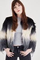 Bayan Siyah Kürk Ceket