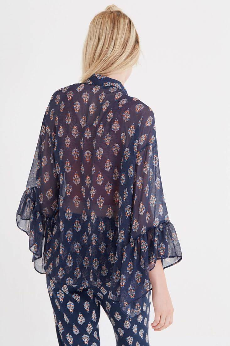 Women Mixed Kimono With Pattern