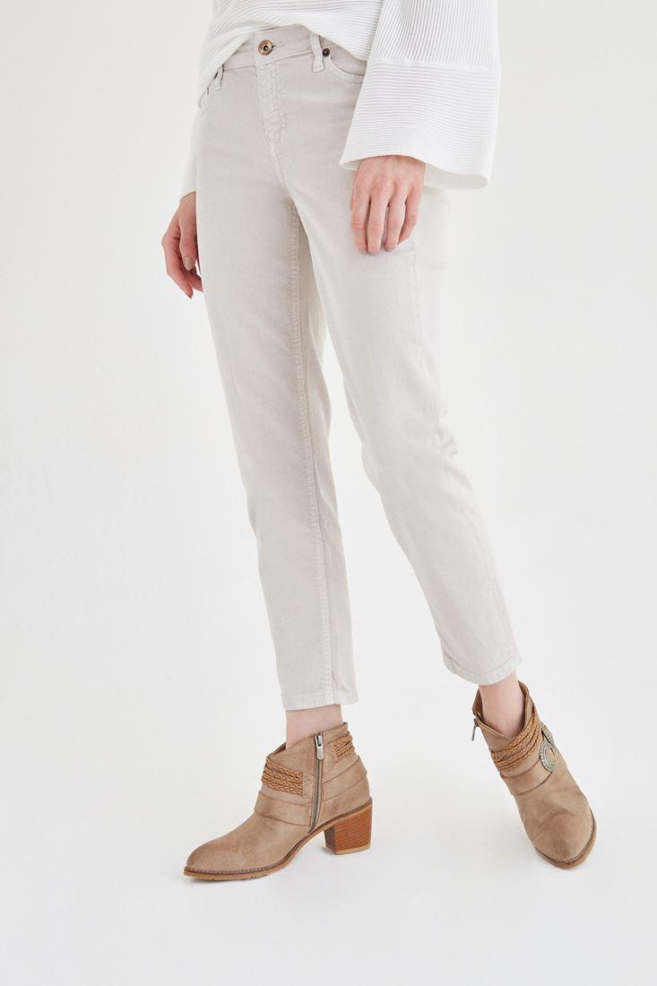 Cream Boyfriend Pants