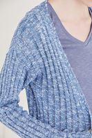 Bayan Mavi Uzun Hırka