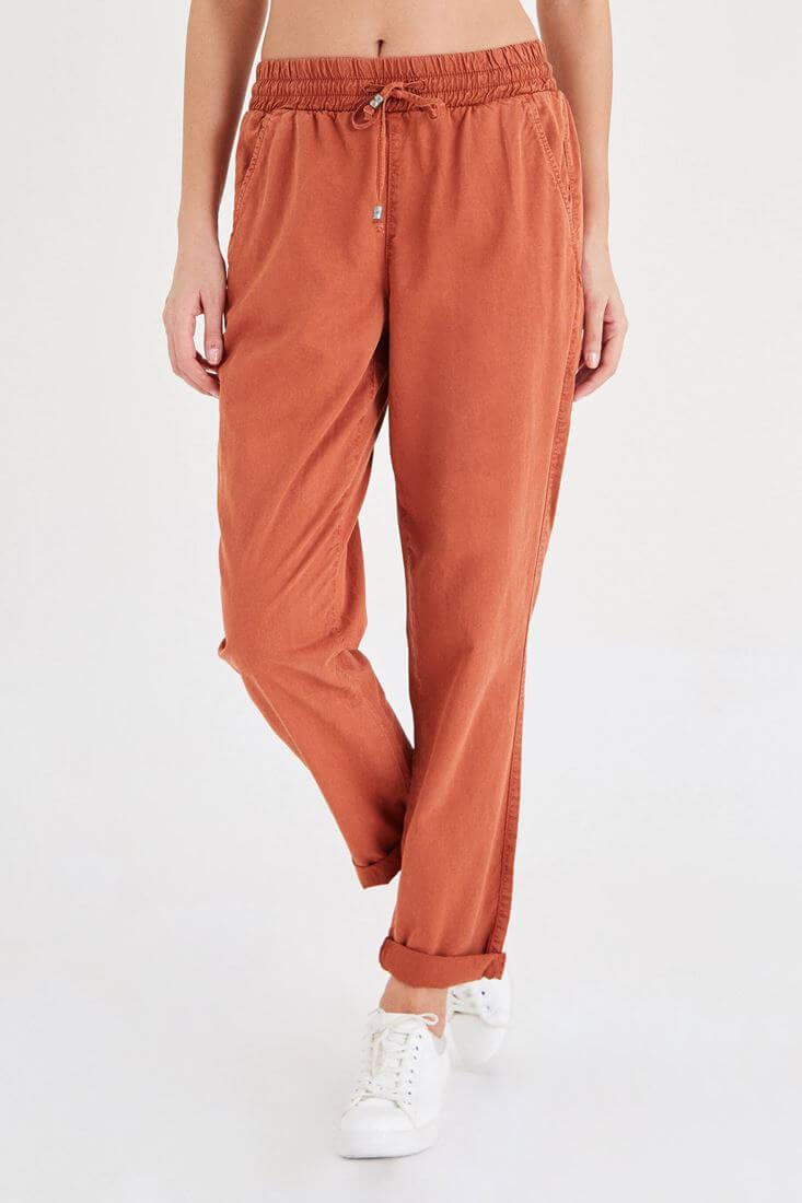 Turuncu Havuç Pantolon