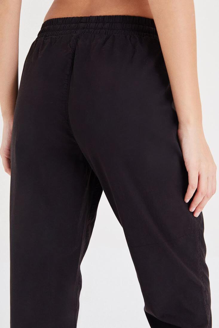 Bayan Siyah Havuç Pantolon