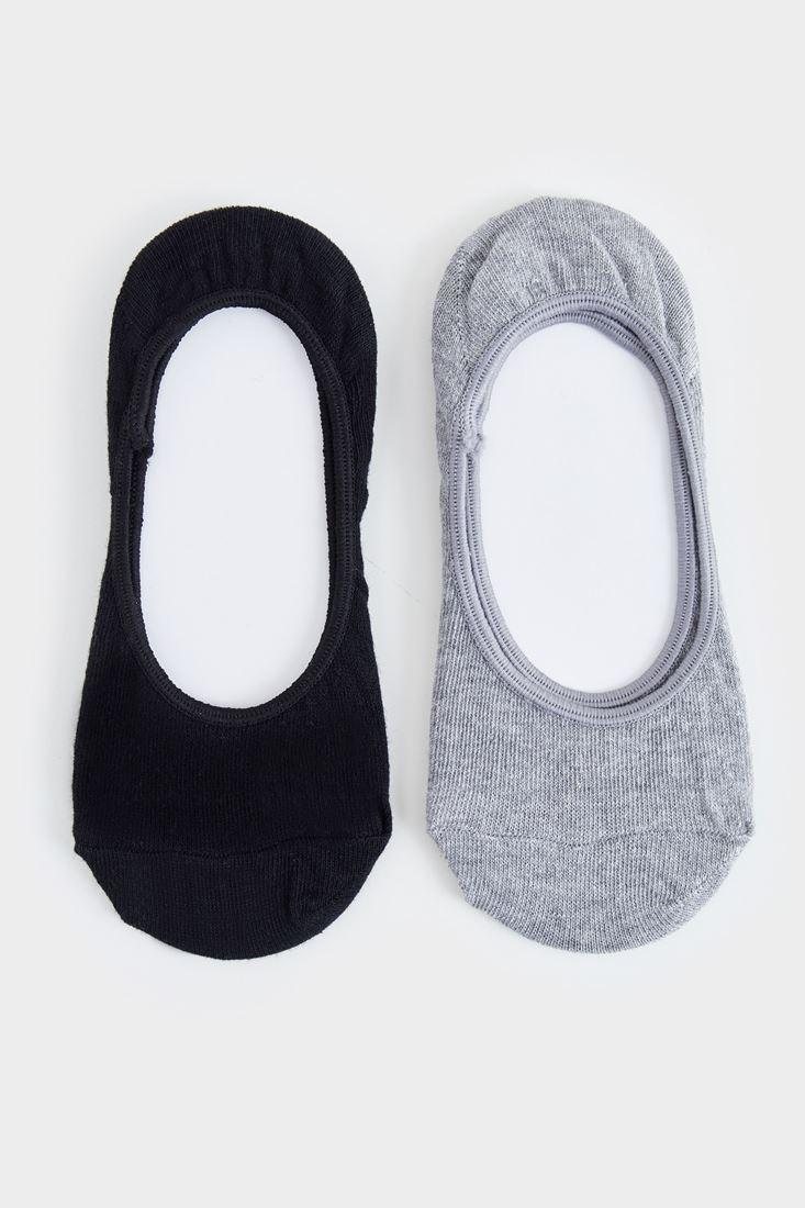 Bayan Siyah Babet Çorabı