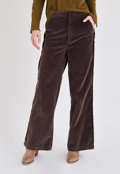 Kahverengi Kadife Pantolon