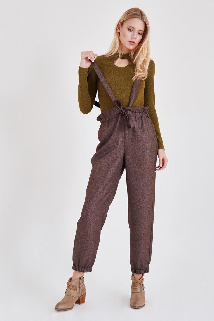 Women Brown Overall