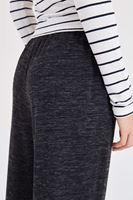 Bayan Gri Bilek Detaylı Pantolon