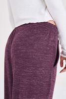 Bayan Bordo Bilek Detaylı Pantolon