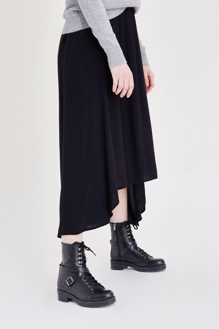 Bayan Siyah Uzun Etek
