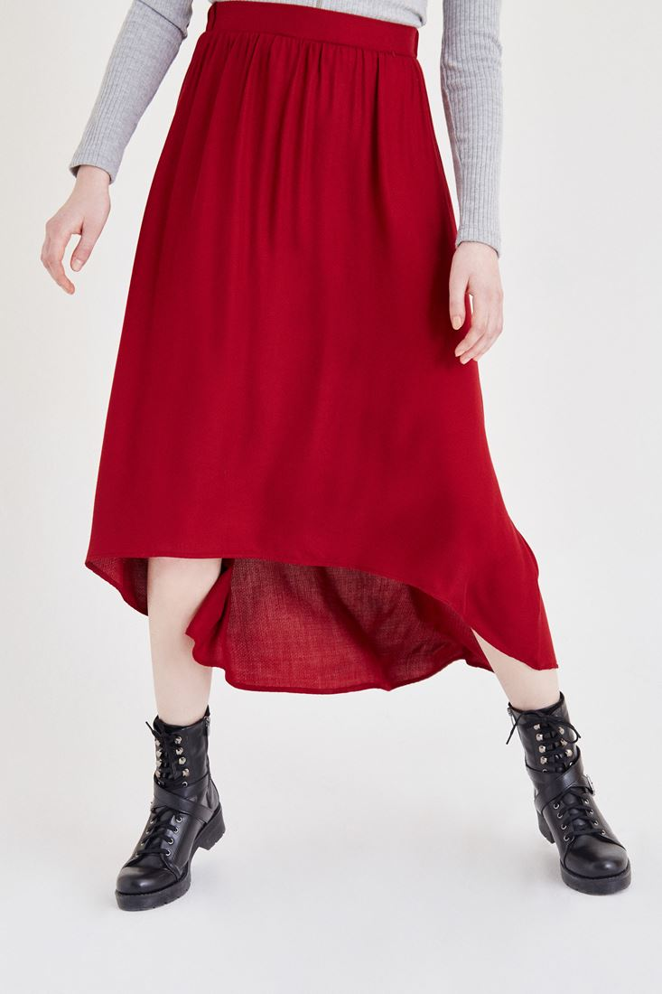 Bordeaux Long Skirt