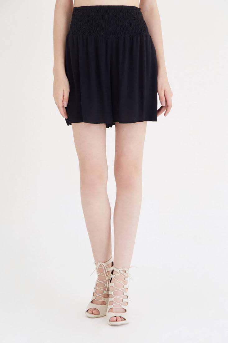 Black Vıscone Shorts
