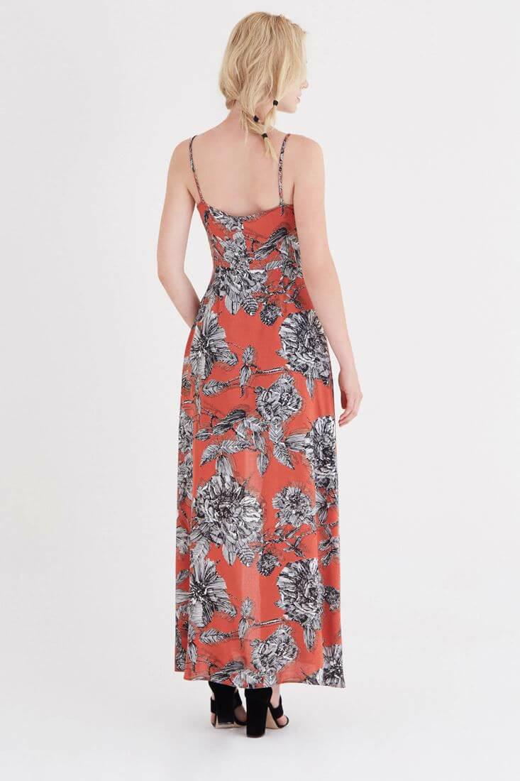 Bayan Çok Renkli Desenli Şort Elbise