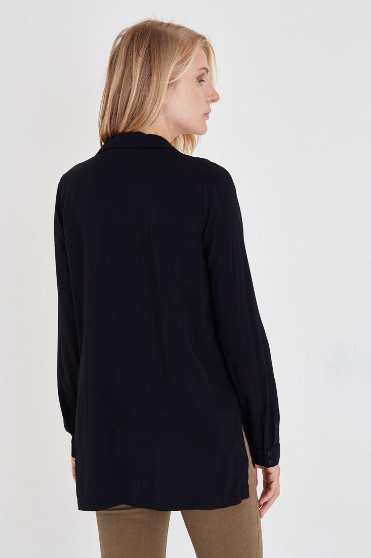 Bayan Siyah Gömlek