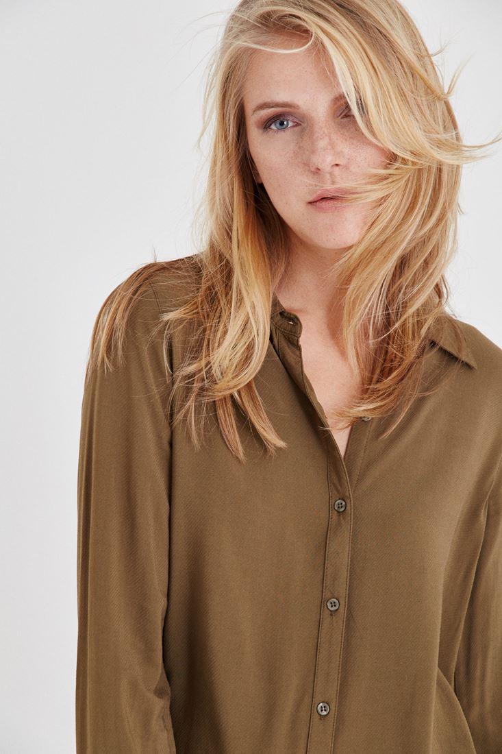 Bayan Yeşil Gömlek