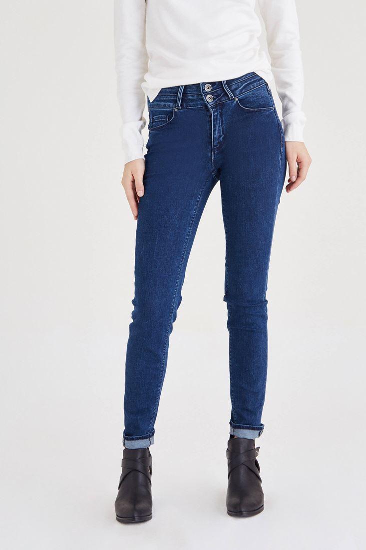 Blue High Rise Jean