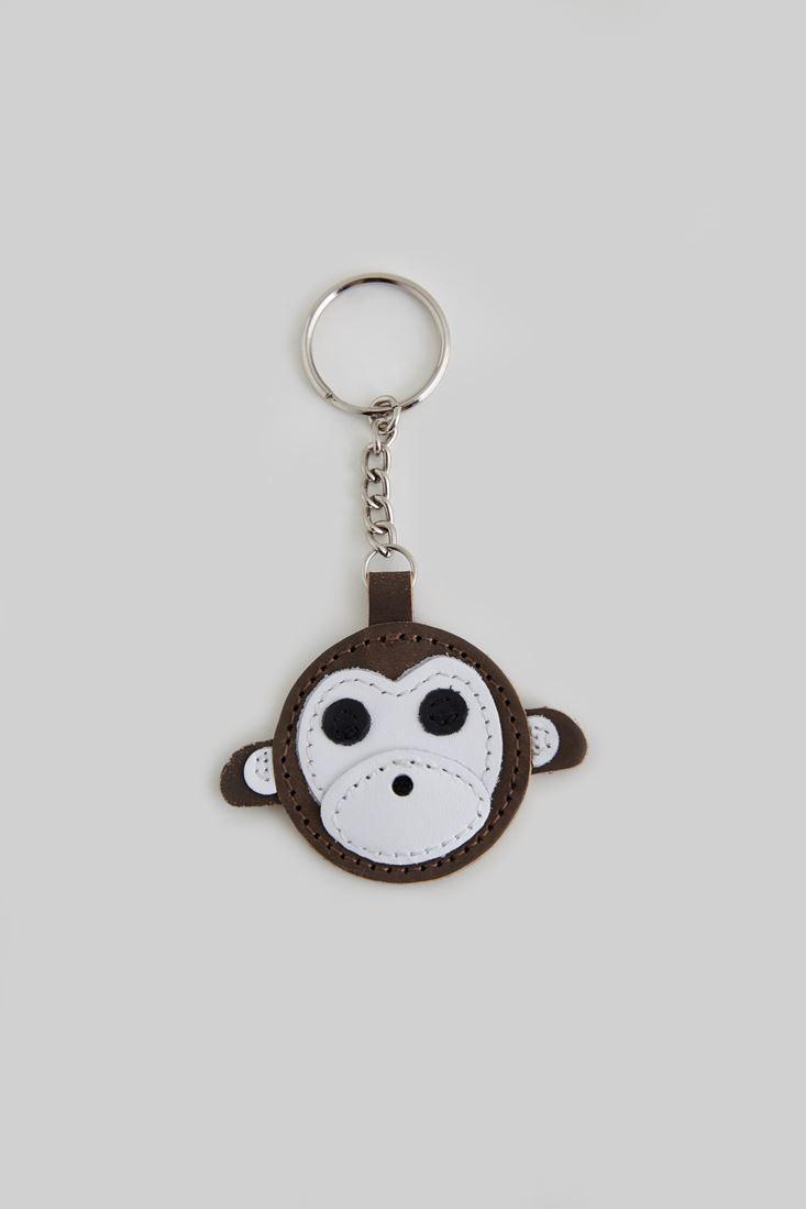 Kahverengi Maymun Anahtarlık