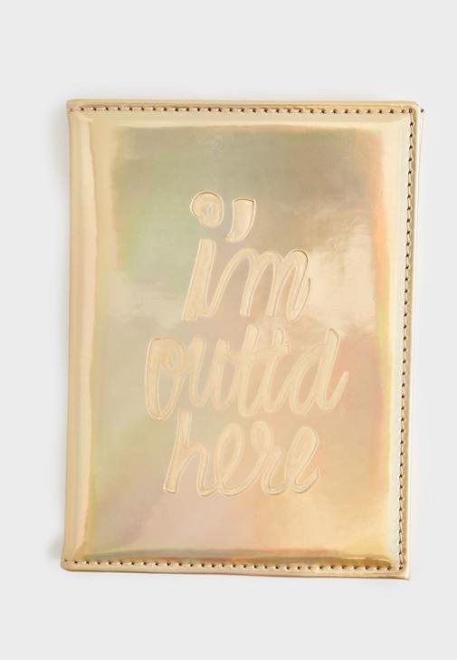 Altın Pasaport Cüzdanı