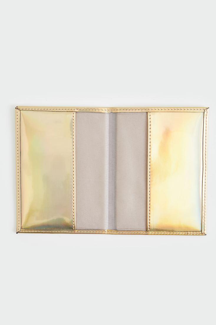 Bayan Altın Pasaport Cüzdanı