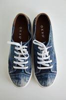 Bayan Mavi Denim Ayakkabı