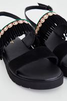 Bayan Siyah Sandalet