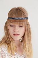 Bayan Mavi İkili Saç Bandı