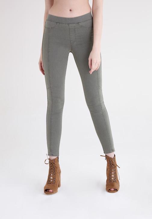 Yeşil Yüksek Bel Tayt Pantolon
