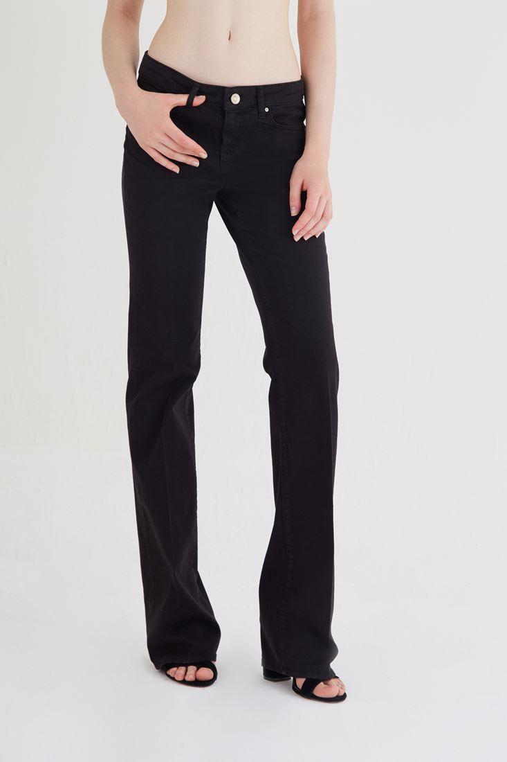 Siyah Bot Paça Pantolon