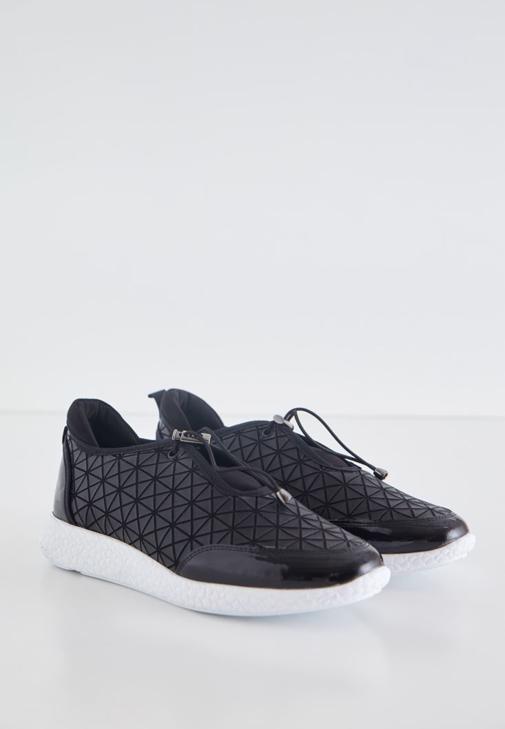 Siyah Siyah Spor Ayakkabı