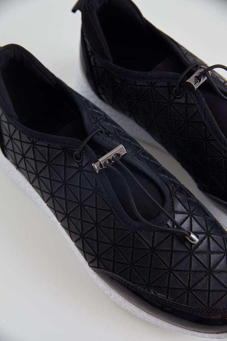 Bayan Siyah Siyah Spor Ayakkabı