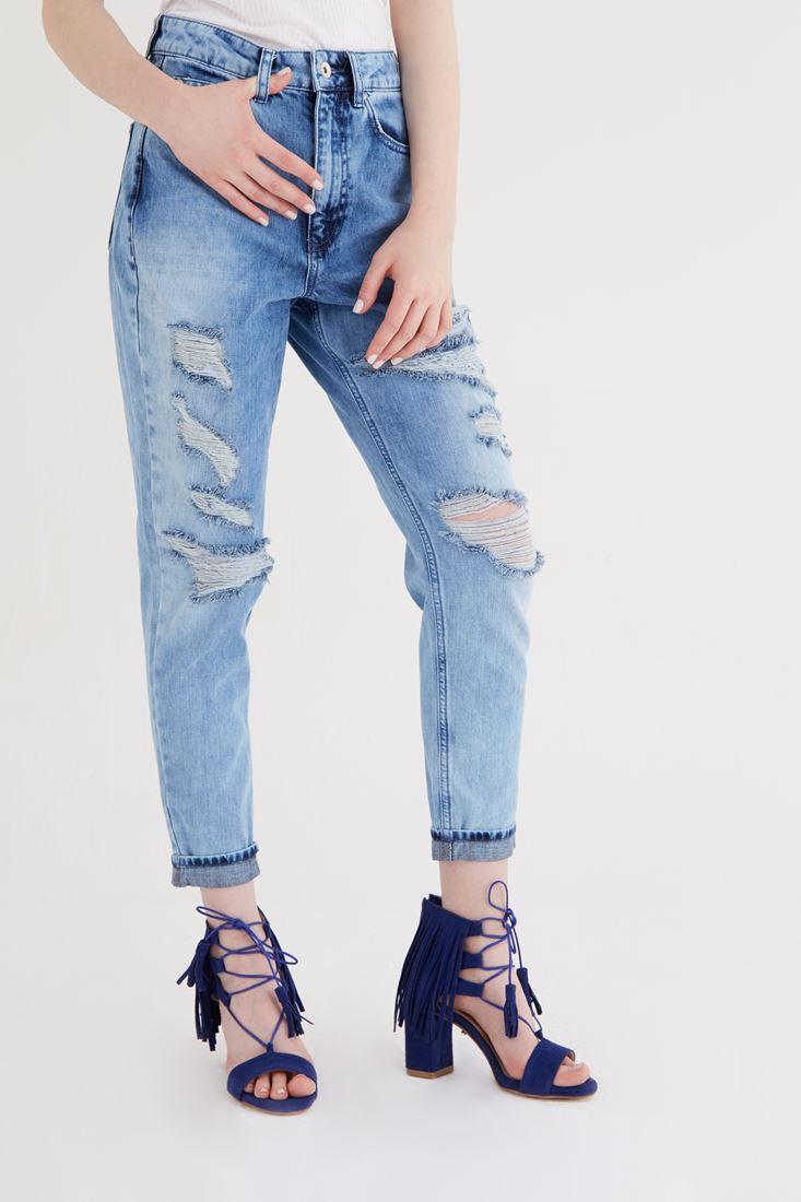 Blue High Waist Jean