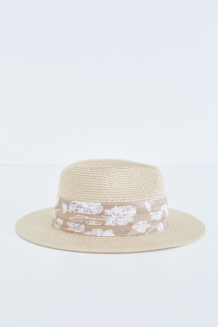 Çok Renkli Hasır Şapka