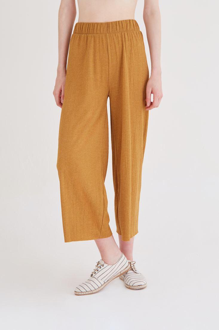 Bayan Turuncu Bol Pantolon