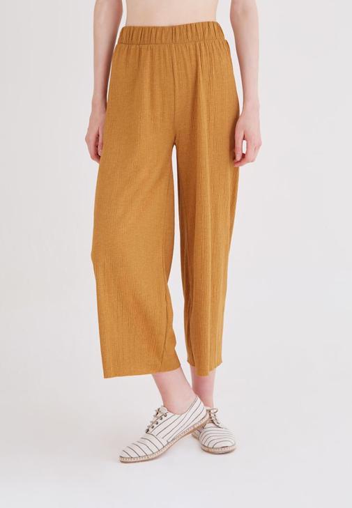 Turuncu Bol Pantolon