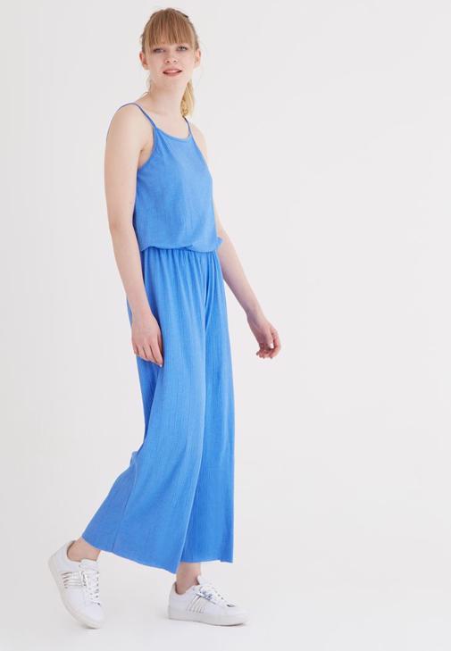 Mavi Askılı Tulum