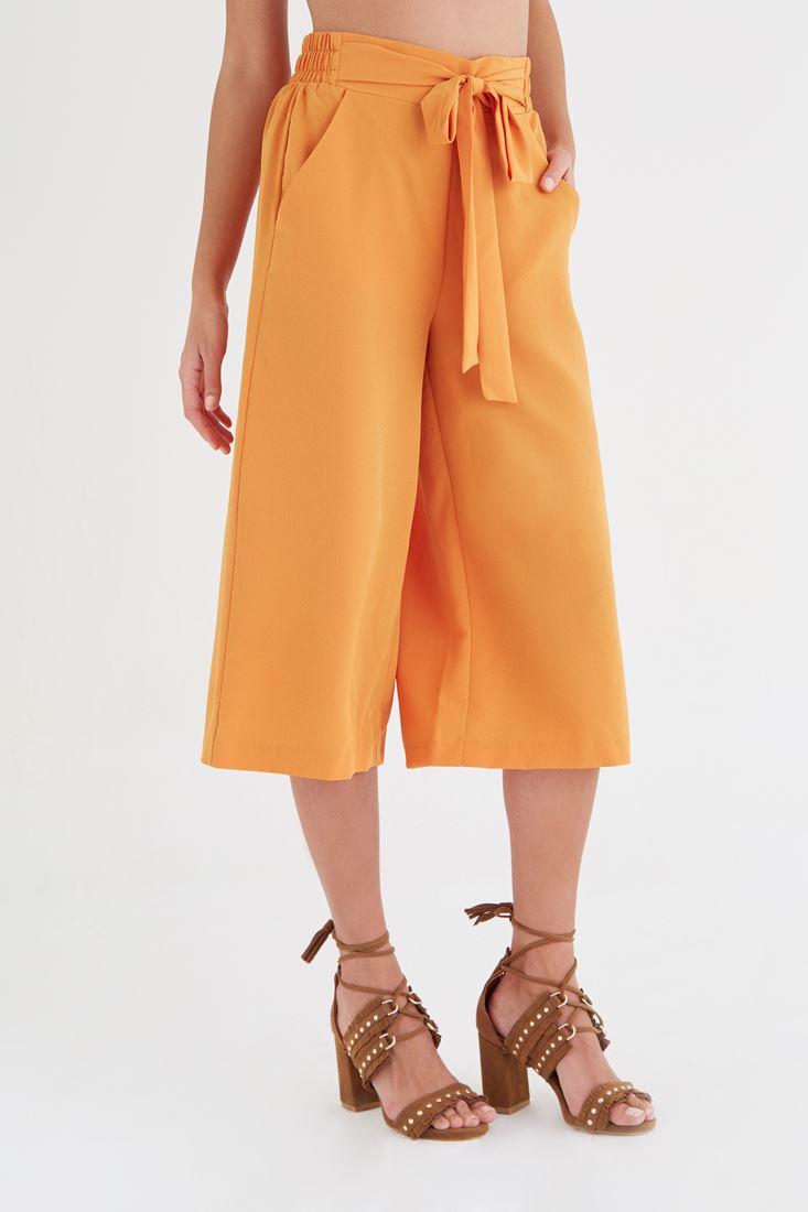 Bayan Turuncu Culotte Pantolon
