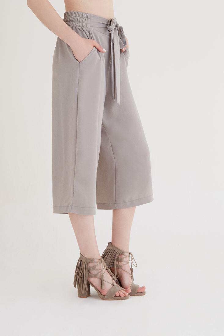 Bayan Gri Culotte Pantolon