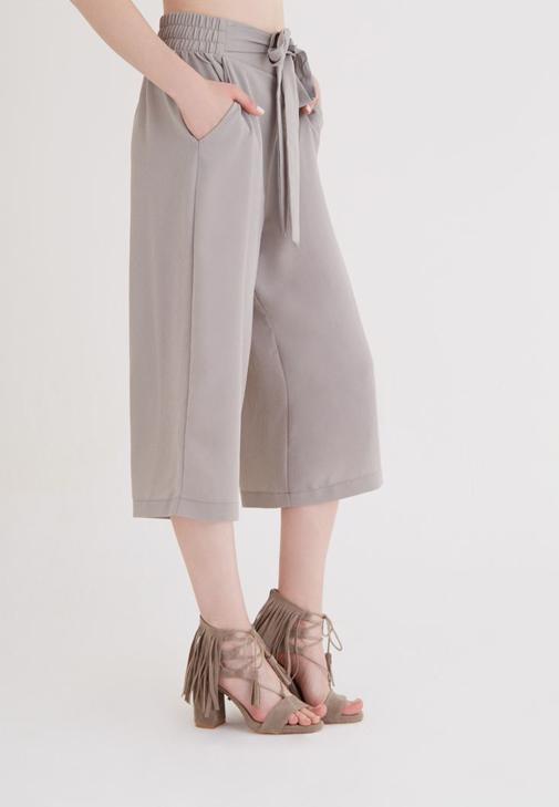 Gri Culotte Pantolon