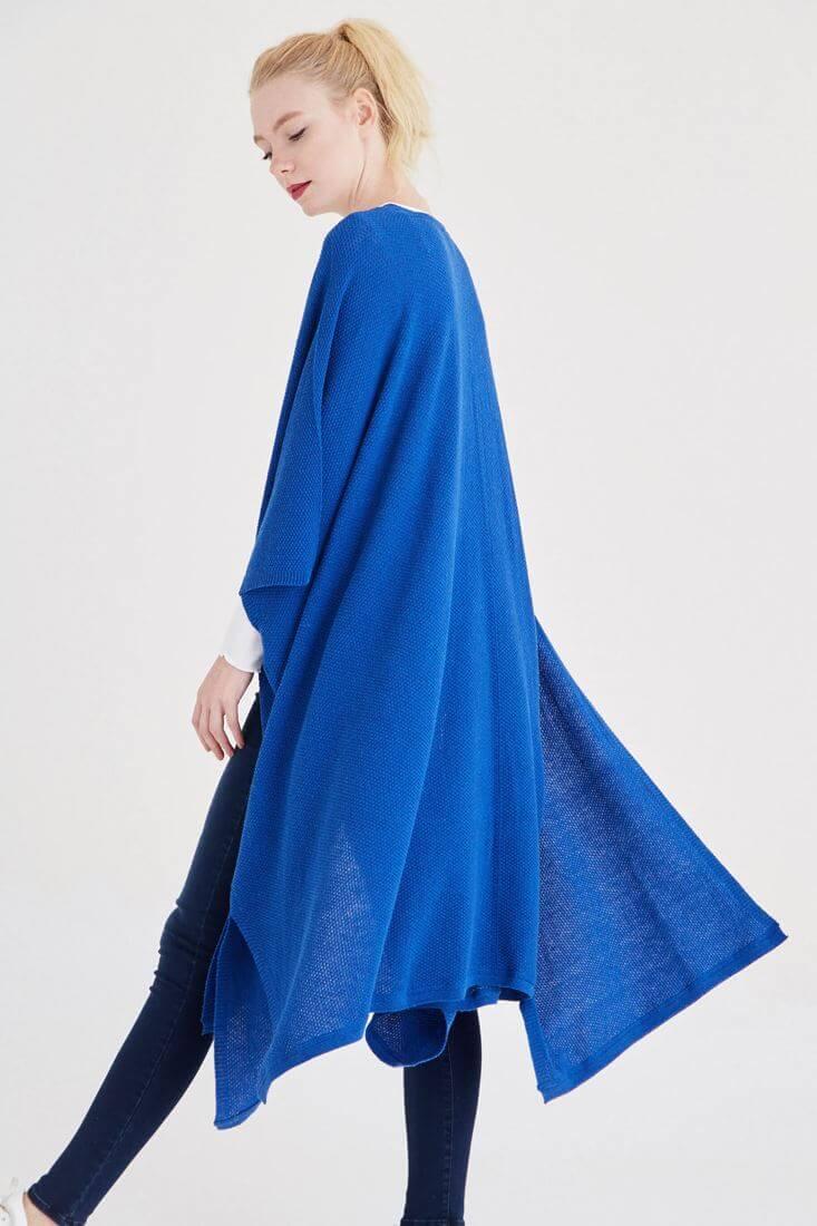 Blue Blousily Cardigan