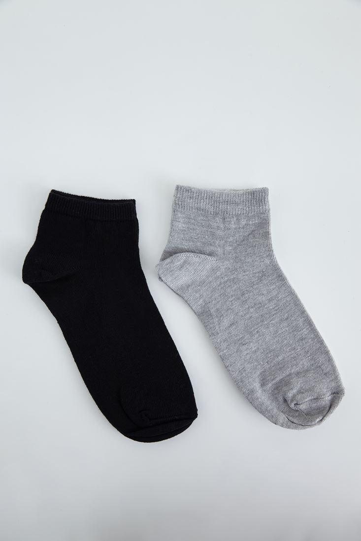 Bayan Gri Spor Ayakkabı Çorabı