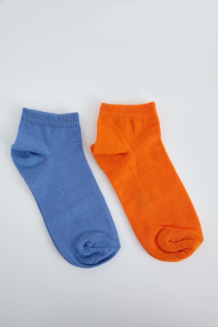 Bayan Mavi Spor Ayakkabı Çorabı
